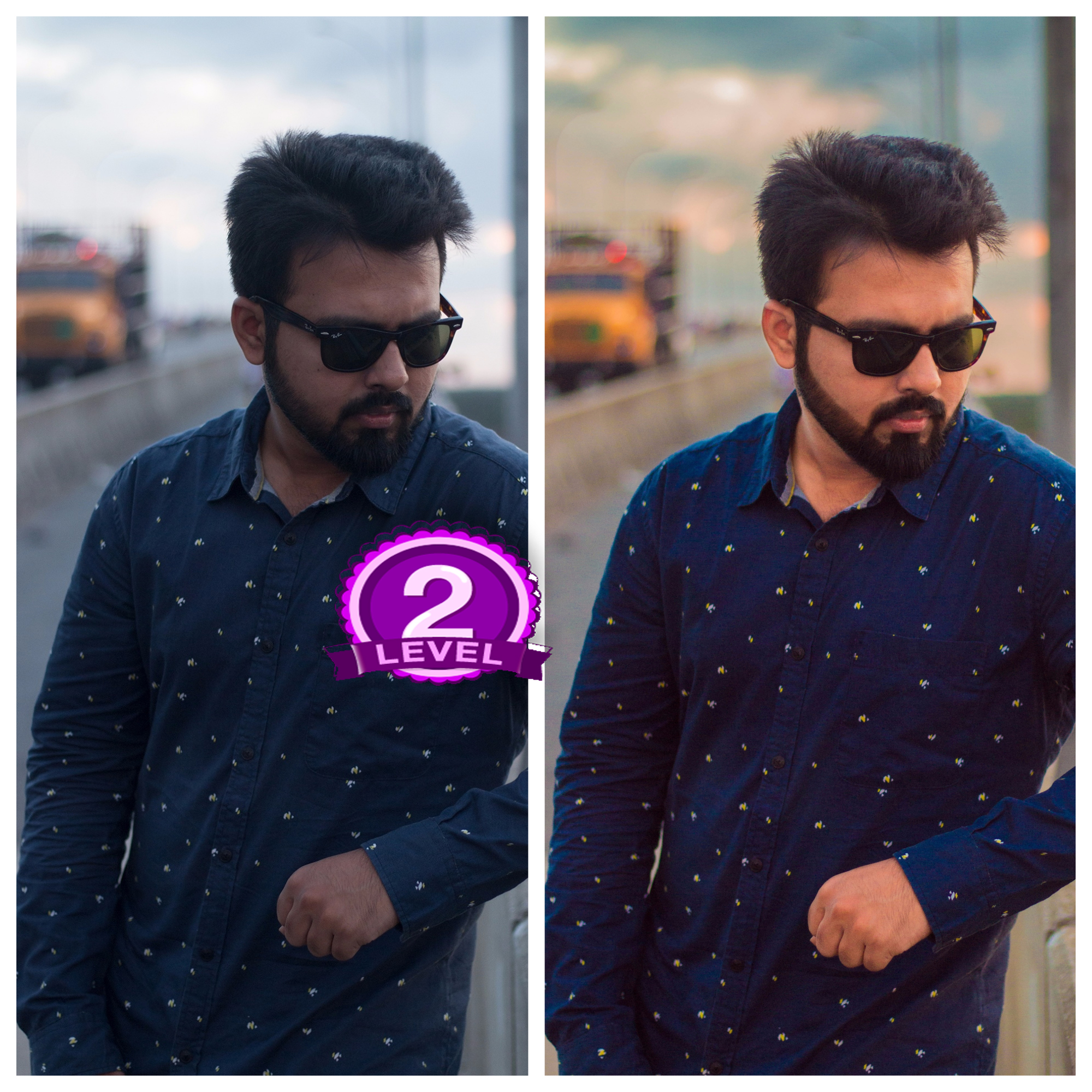 Color correction and edited your photo by Adobe Light...