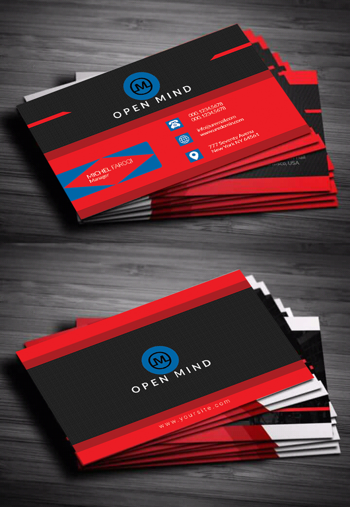 Design Your Double Sided Business Card In 24 Hours for $5 - SEOClerks