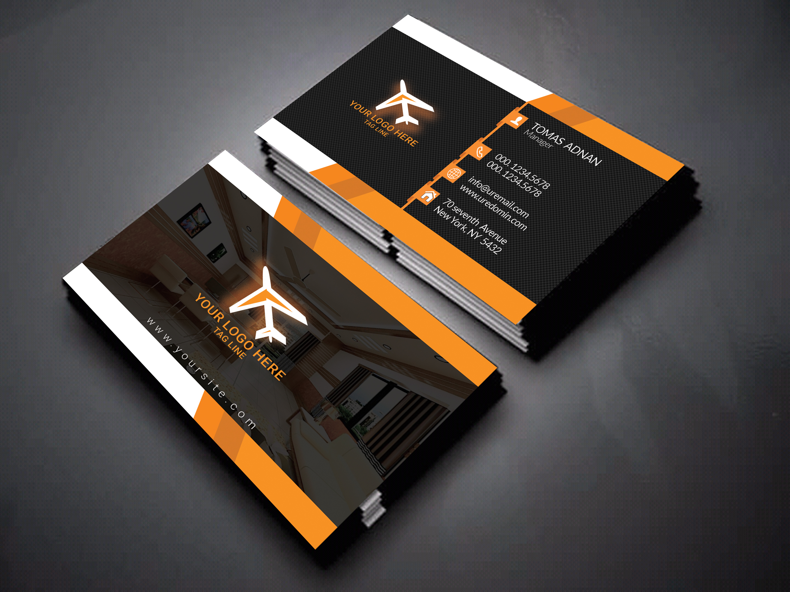 design an amazing business card or post card - Amazing Business Cards