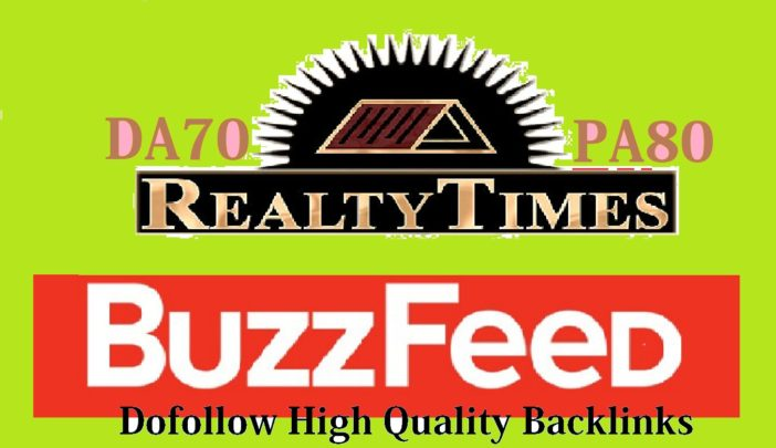 publish guest post on Buzzfeed and Realtytimes with a high Quality Link
