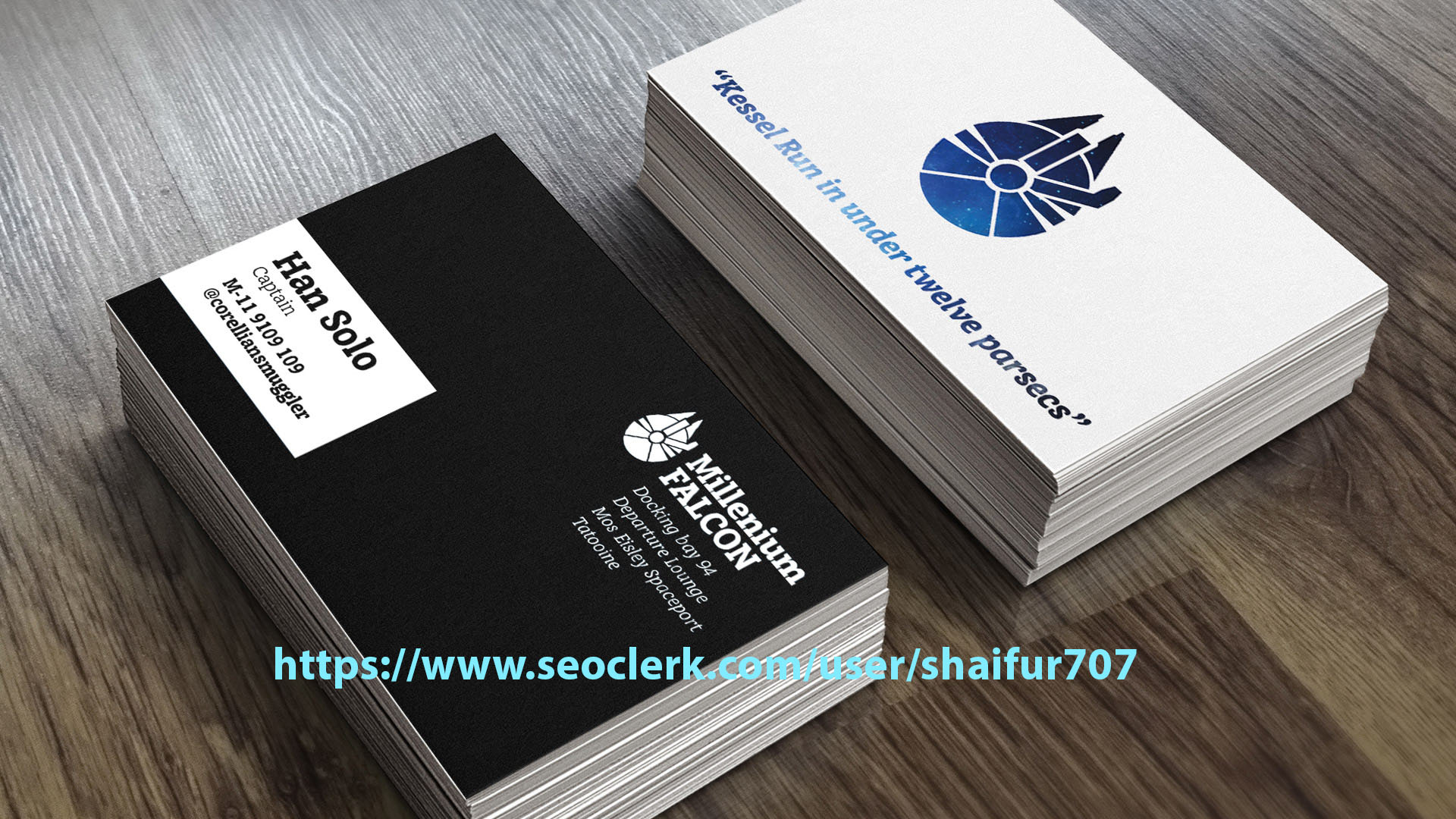Clean Design Professional Business Card for $5 - SEOClerks