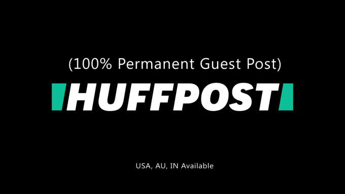 publish 4 guest post on huffington post,  forbes