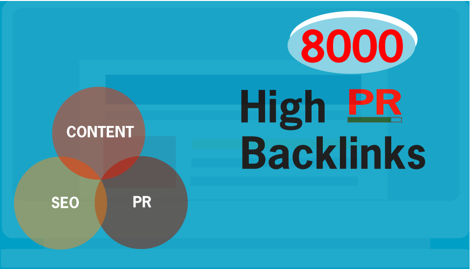 Build 8000 PR Live Mix Contextual Backlinks For SEO