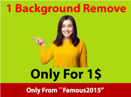 1 Photo Background Remove within 1 Hour
