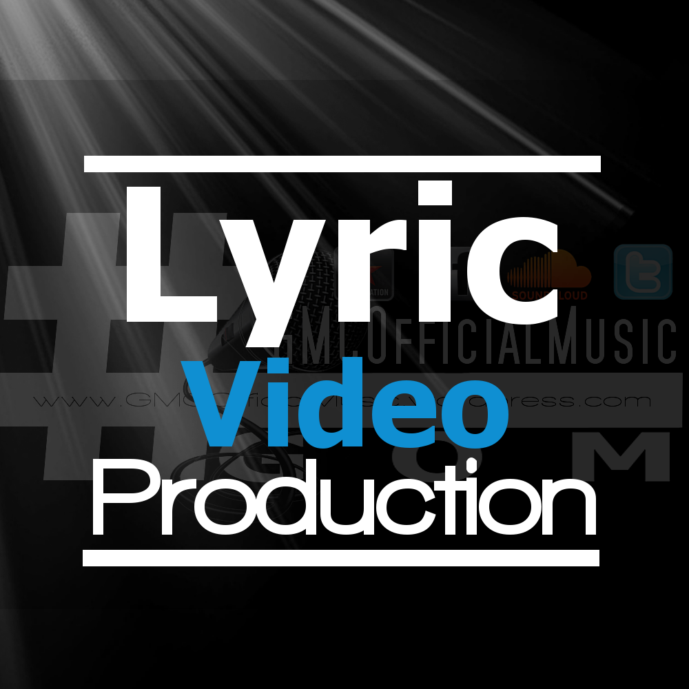 create a professional lyric typography music video for your music