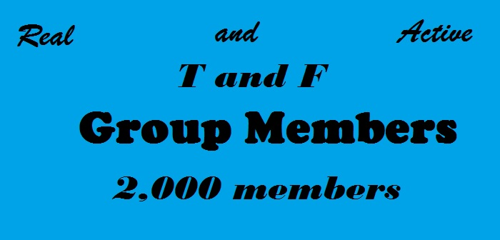 Add T and F 2000 Group Members