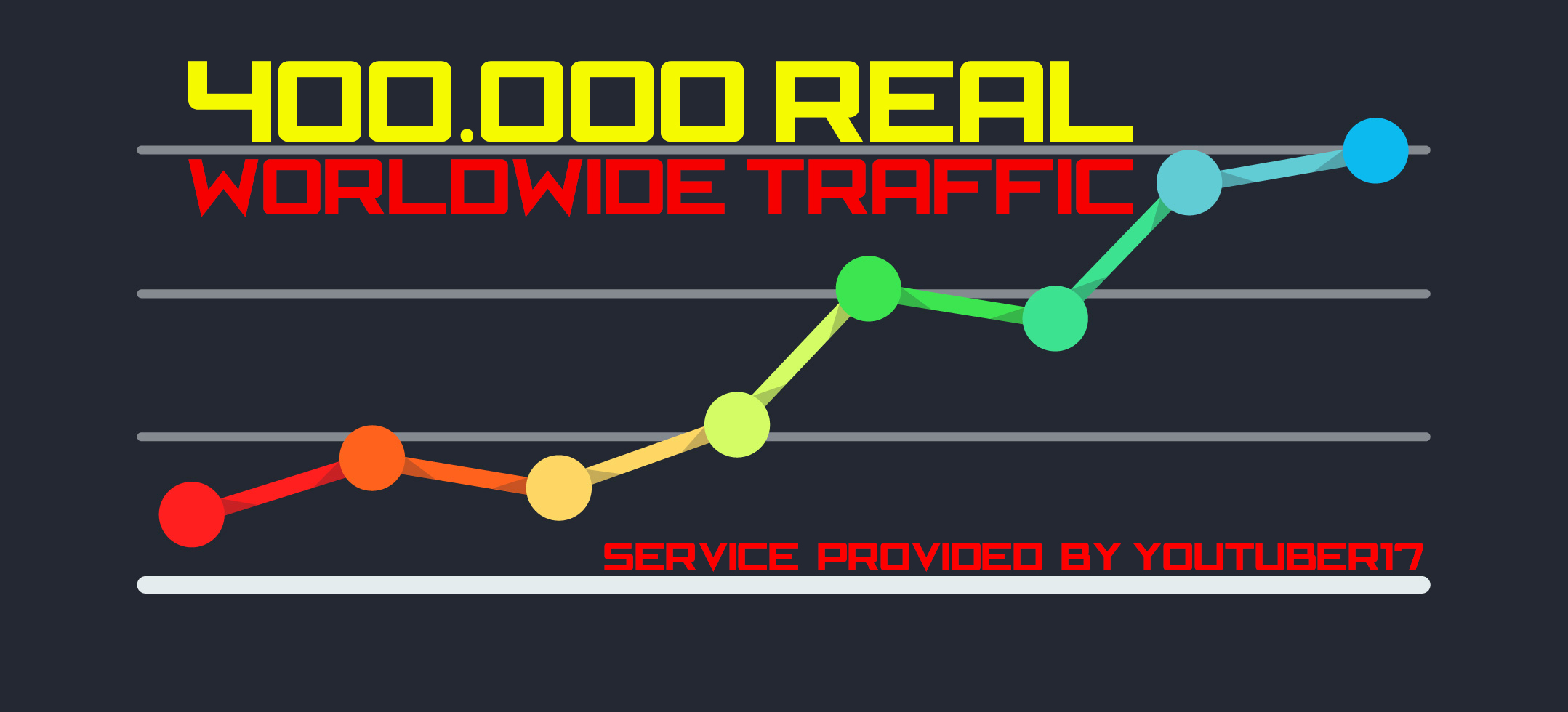 400.000 Web Traffic To Your Website,  Blog or Affiliate Link for