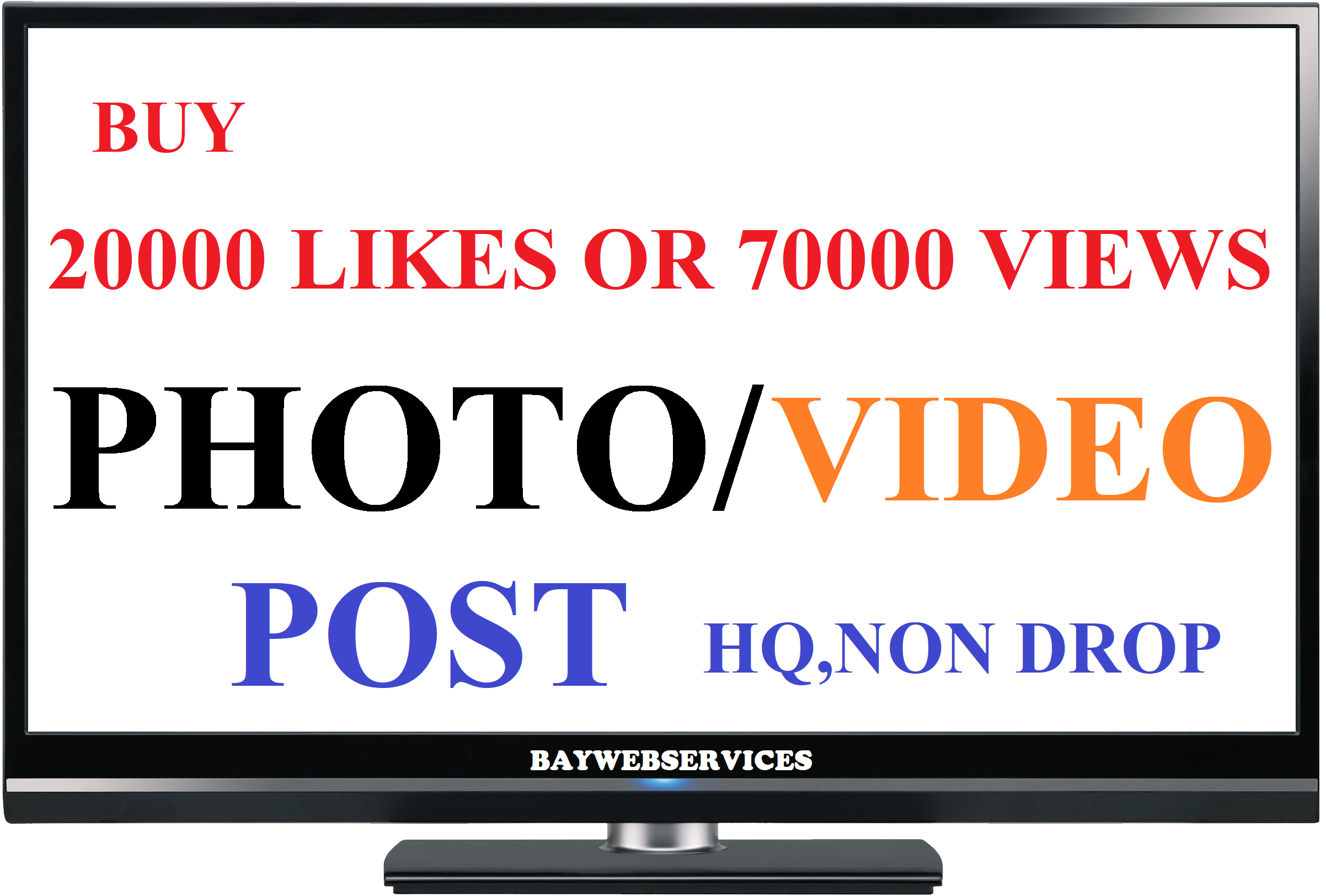 Instant start 20000 photo as or 70000 video scene promotion