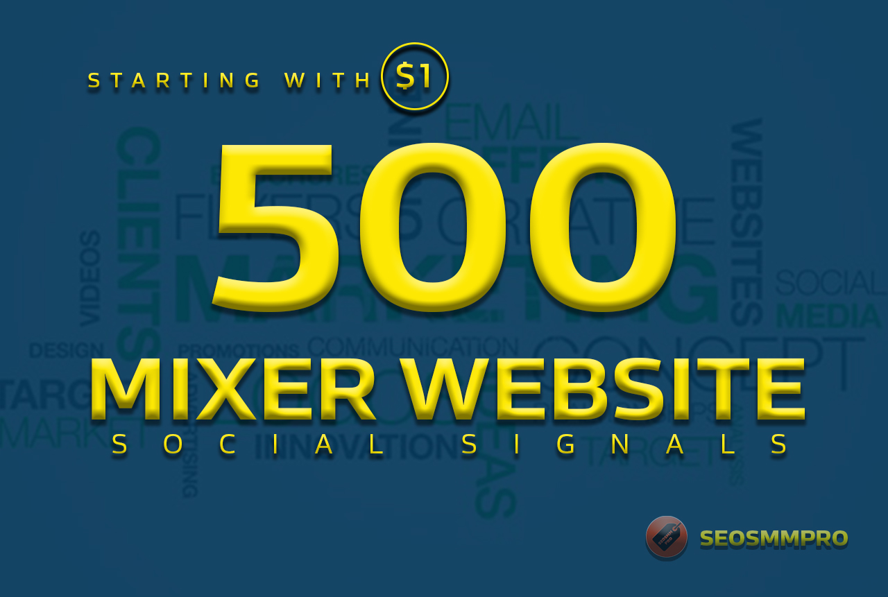 boost your website with 500+ POWERFUL Social Signals ...