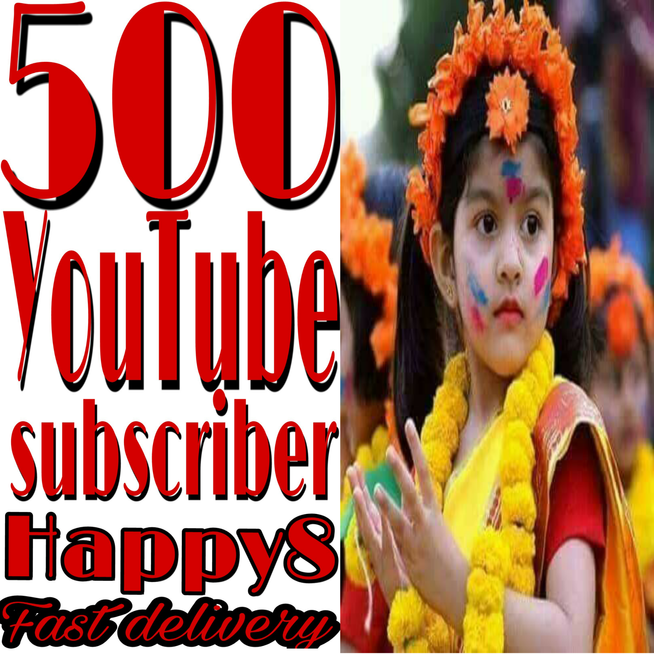 Genuine SUBSCRIBER 500 ON your channel non-drop very fast in 2-1 hours