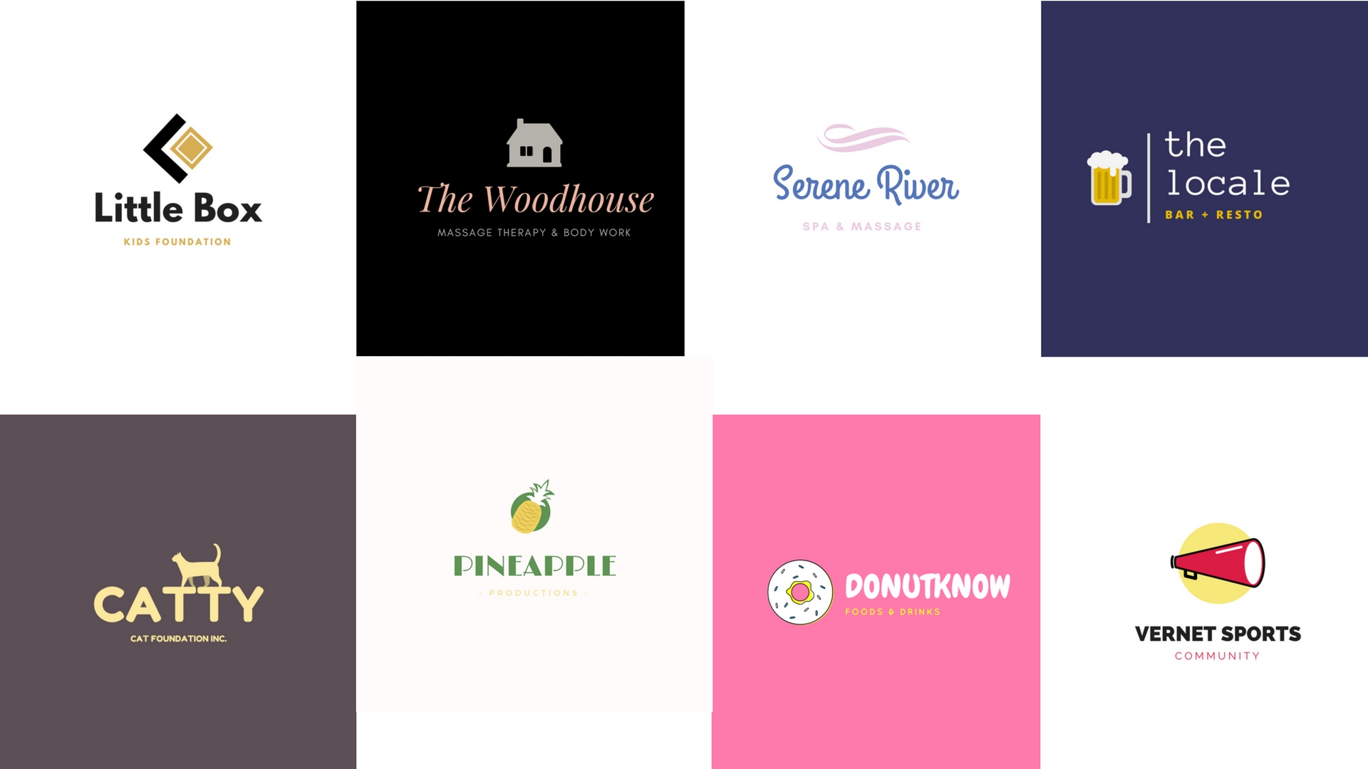Design simple logo for your business