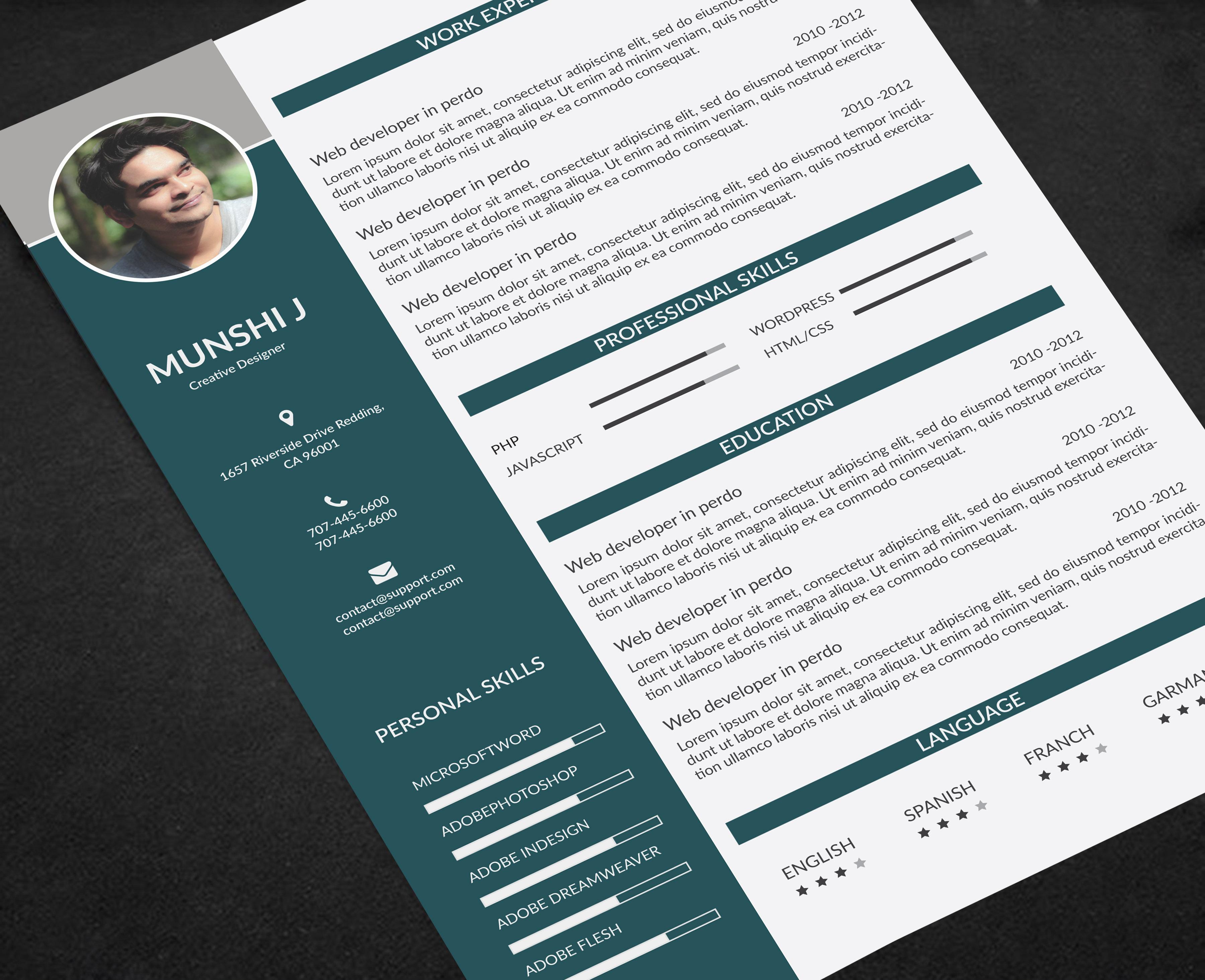 RESUME,  CV,  COVERLETTER DESIGN