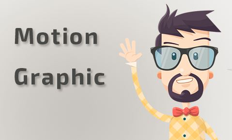 Professionnel motion graphic video