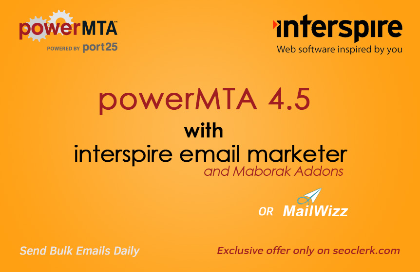 Install and Configure PowerMTA SMTP with Interspire or Mailwizz