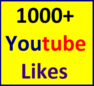 1000+YouTube video Lik'es split available within 12-24 hour in complete
