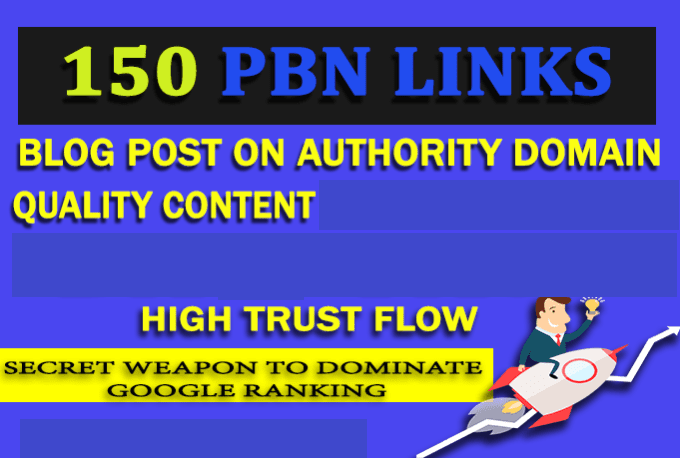 Creat 150 PBN Blog Posts of Extremely High quality and Good metrics