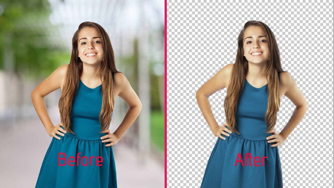 Change background and retouch image