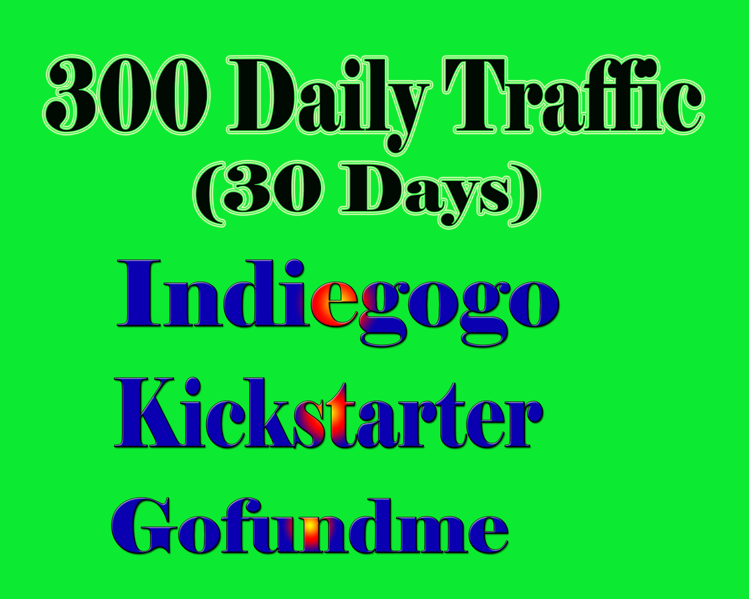 Promote your Indiegogo,  Kickstarter or GoFundMe crowdfunding campaign