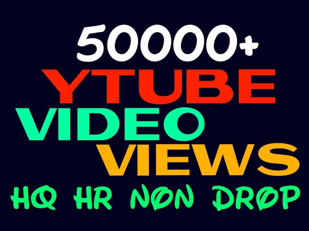 Provide You 50000+ HQ, HR, Non Drop, Youtube Audiences