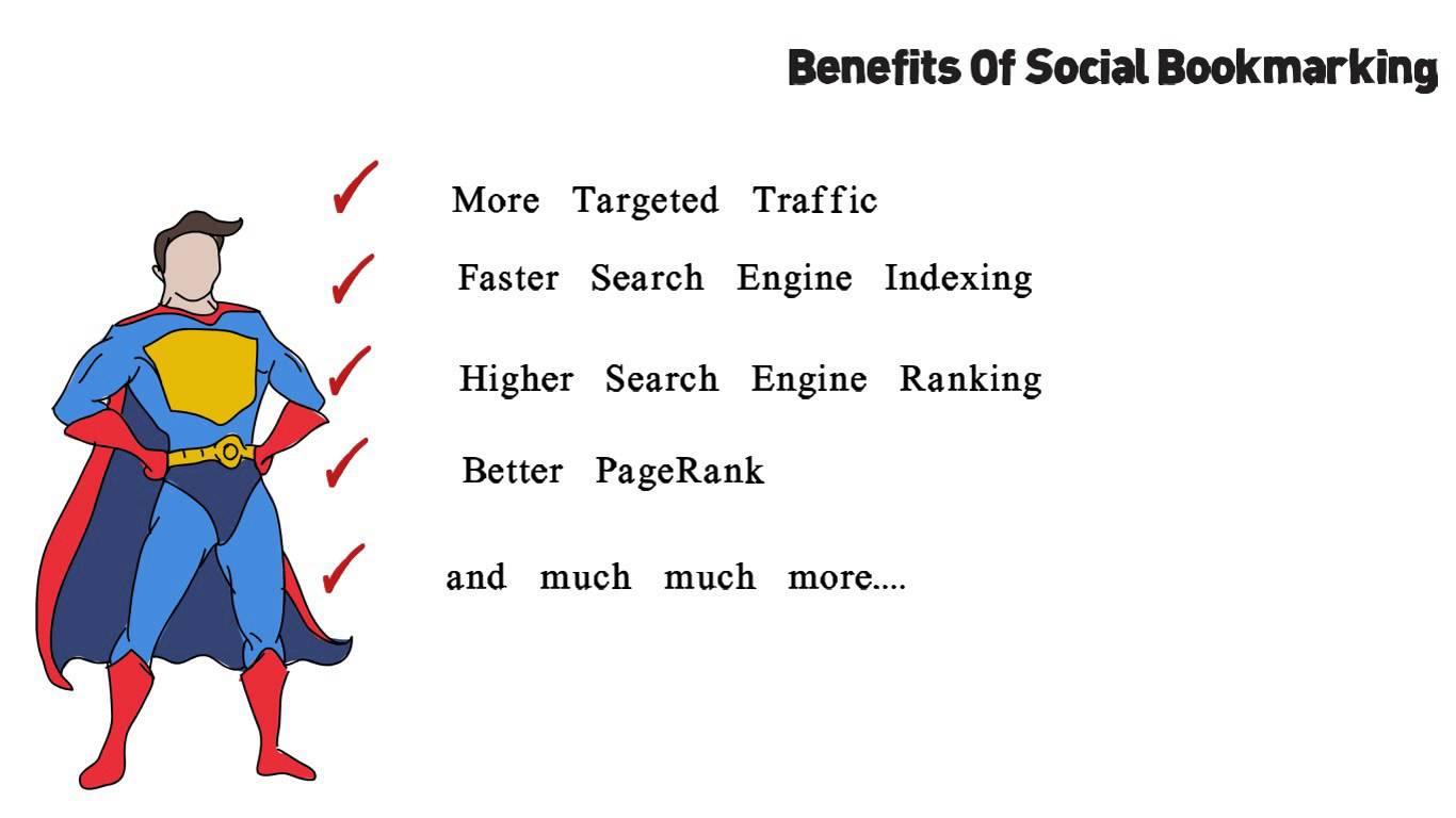 High Quality Manual Social Bookmarking Backlinks PR 9 To 3