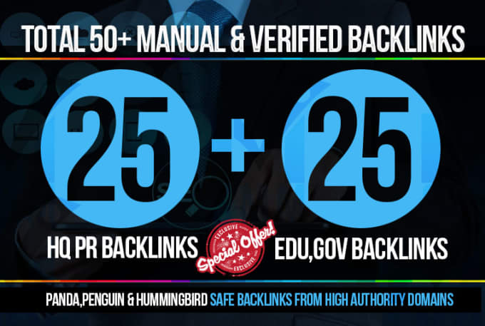 Skyrocket Your Google Rankings With 50 Pr9 Pr10 Seo B...