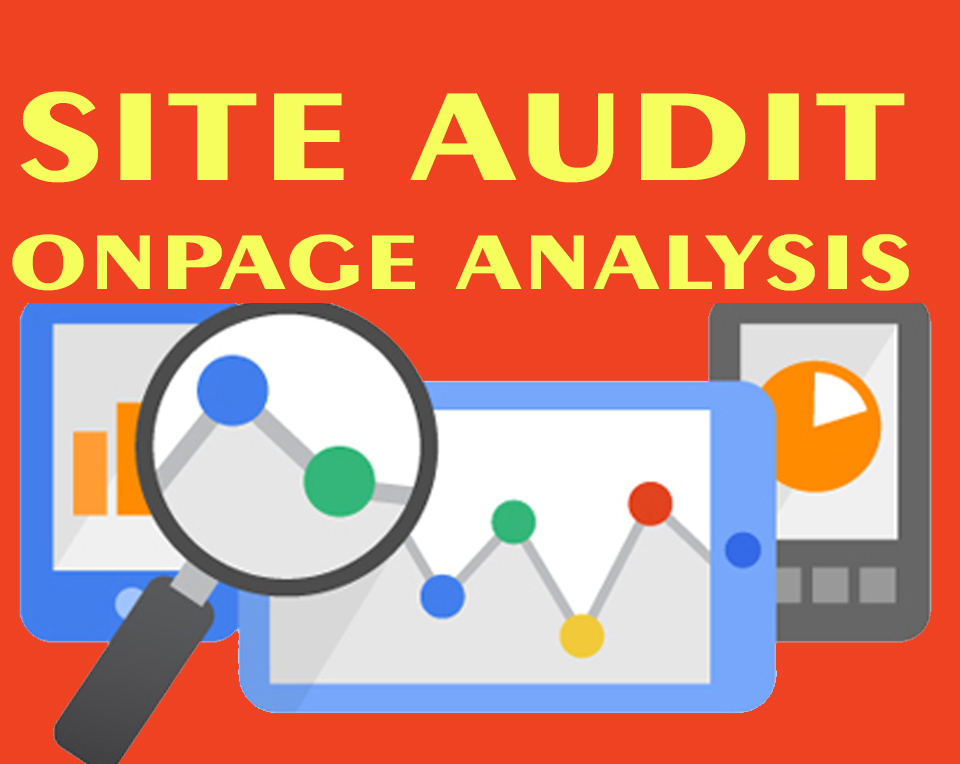 Do Complete On page Analysis and Website Audit