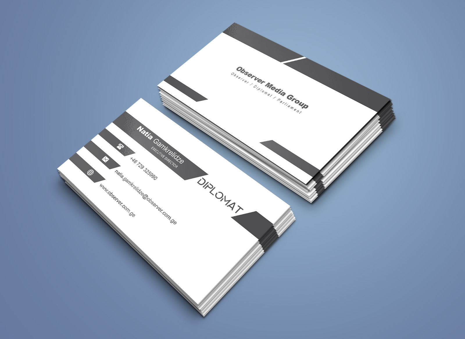 Design A Unique Double Sided Business Card for $5 - SEOClerks