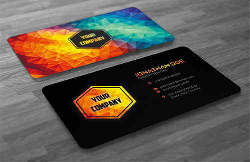 Business Cards Design | Design A Unique Double Sided Business Card For 5 Seoclerks