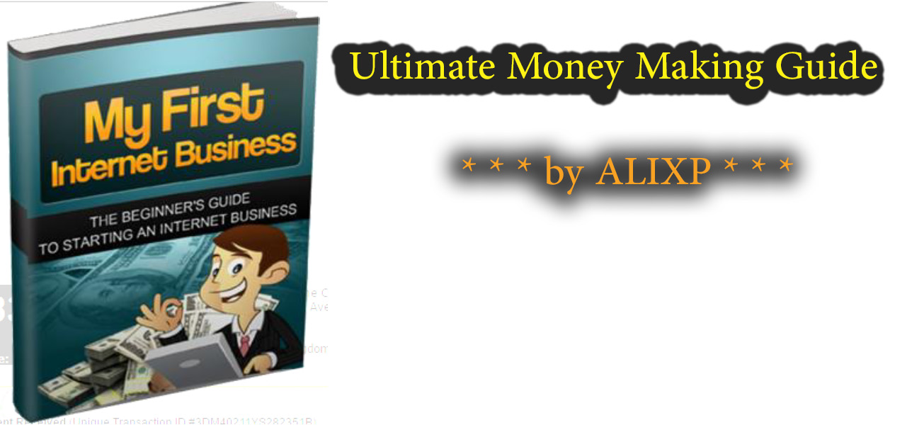 Money Making Guide by ALIXP