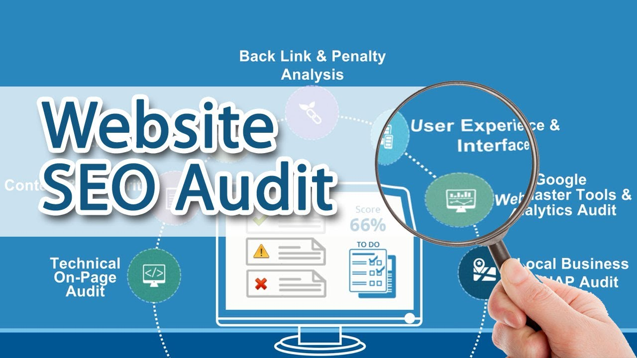 Provide complete SEO audit report