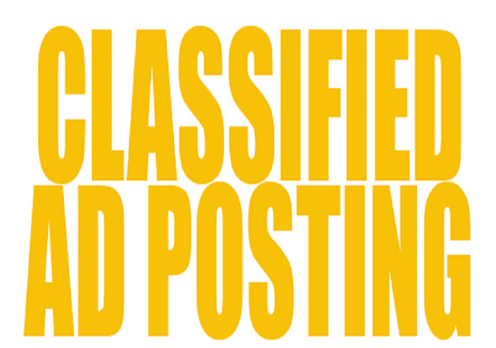 Post Your Ad To 30 High PR Classified Ad Posting Sites