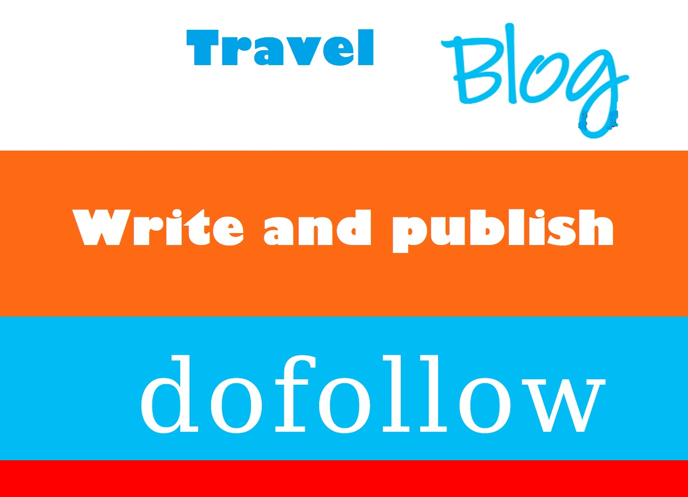 Write and Publish Guest Post At Travel or Home Improvement sites DA 30-50 Manually