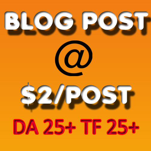 Blockbuster SEO Post | High DA Upto 30 | High TF Upto 20 | Home Page Permanent Links