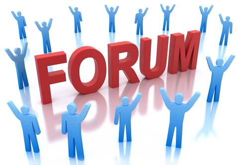 do Forex forum posting with links