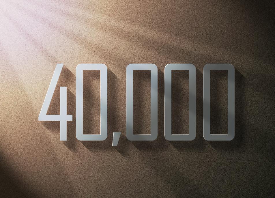 Drive 40k social web traffics within 20 days