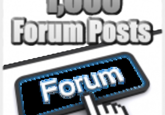 create 1200+ high pr dofollow backlinks from forum po...