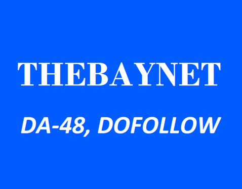 write and publish a dofollow guest post on Thebaynet. com