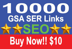 10,000 Backlinks For Page 1 SEO Ranking
