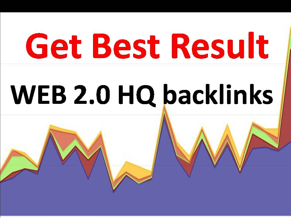 Get 1000 Web 2 Backlinks with Authority website and fast delivery