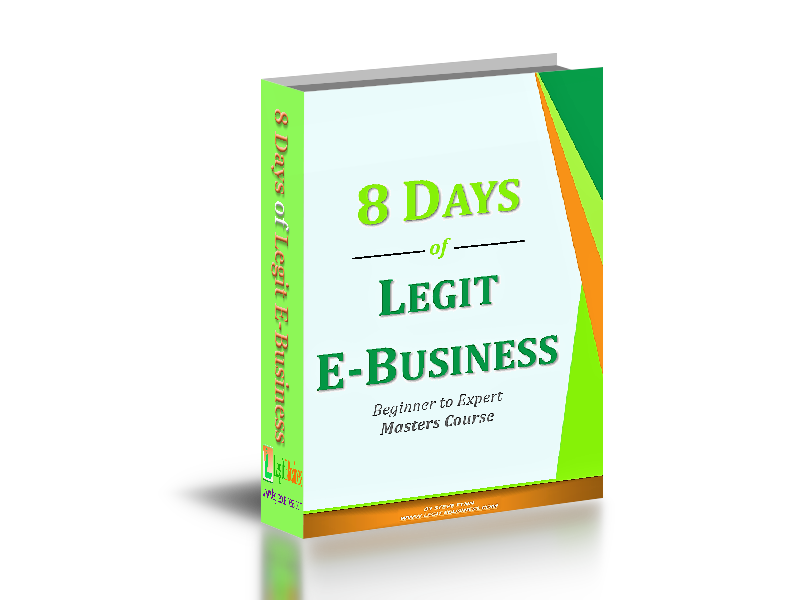 LEARN HOW TO BUILD A SUPER BUSINESS ONLINE IN 8 DAYS