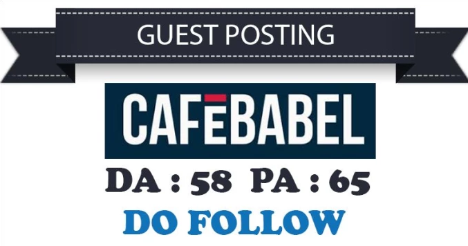 I Will Do Guest Post On Cafebabel. Co. Uk With Dofollow Link Indexed