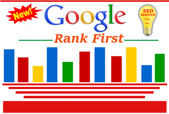 First page google ranking SEO for your website or video