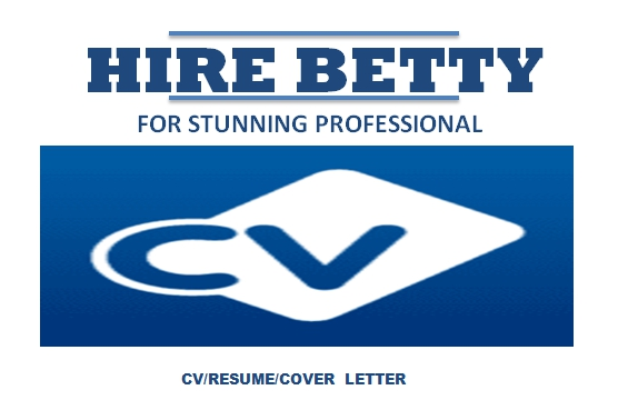 Let a professional craft you the best stunning resume/CV