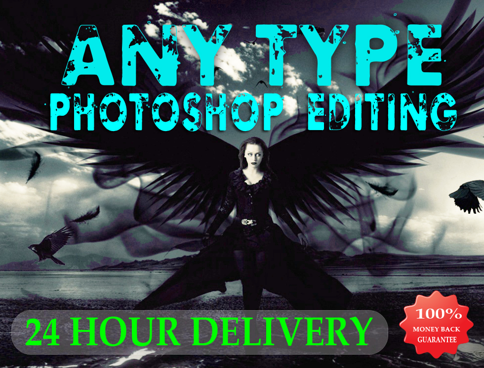 Do Photoshop Editing Work Professionally 24 Hour Delivery
