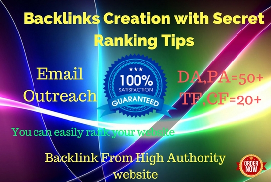 Do Email Outreach 1 Dofollow Backlink From Others Niche Site