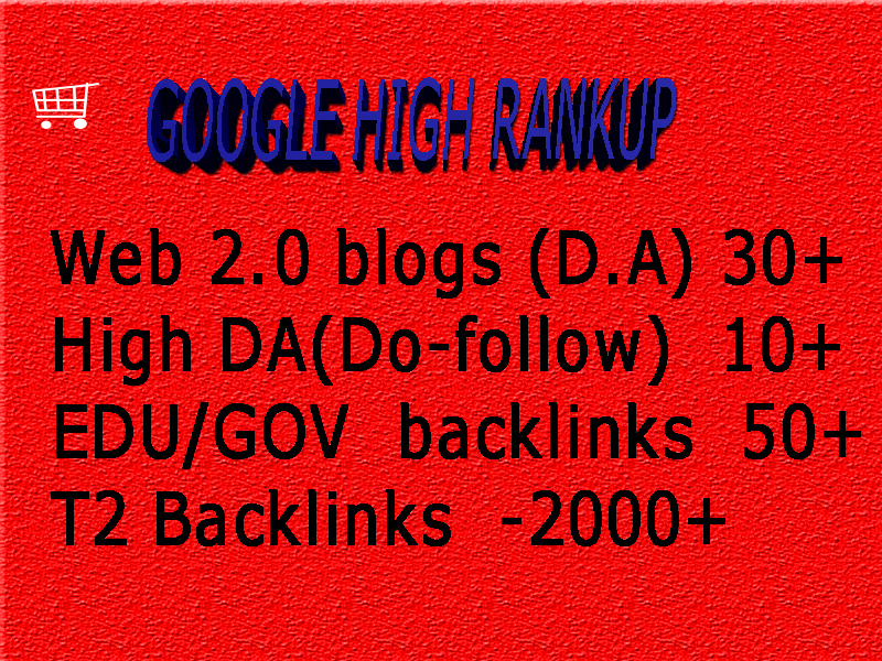 Boost Google page Rank with High DA Web2 Backlinks