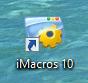 how to create auto filling macro on imacros