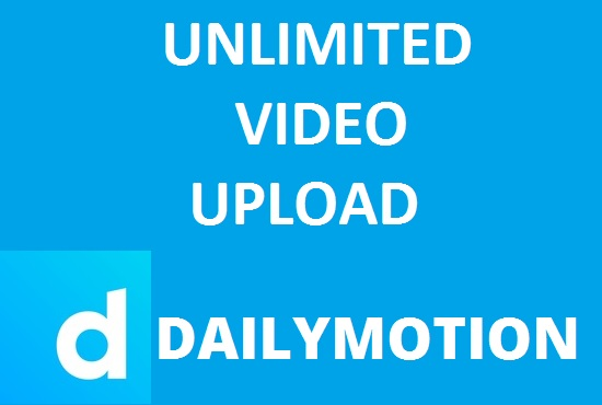 Unlimited Video Upload For Dailymotion - Earn 1.000 Per Day - Max500 Videos