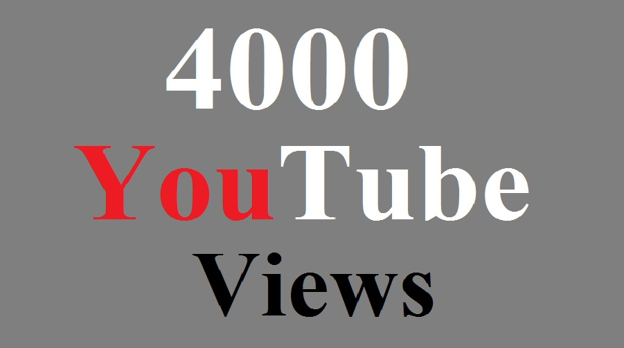 5000+High Quality YouTube Views Guaranteed Delivery Within 24 HOURS