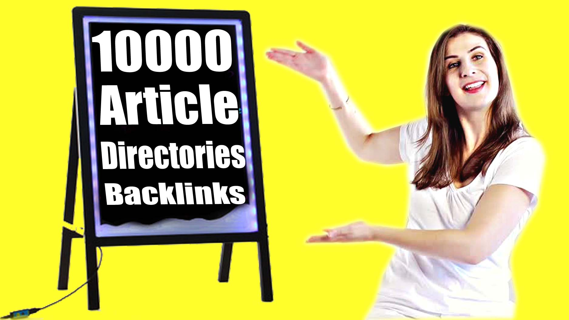 Google Ranking with 10000 Article Directories Backlinks